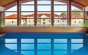 Maďarský Györ s wellness, vstupem do lázní a polopenzí pro DVA v 4* hotelu