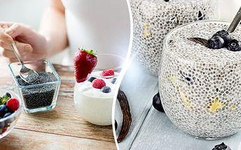 Chia semínka: balení 1 kg, dodejte tělu potřebné Omega 3, proteiny a minerály