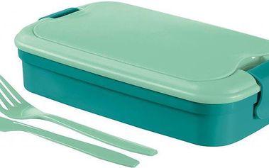 Svačinový box LUNCH & GO - modrý (00768-B36) CURVER