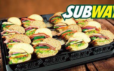 Subway talíř s nejoblíbenějšími sendviči světa
