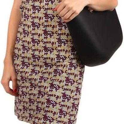 Barevné letní šatičky fialová