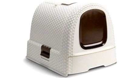 Toaleta pro kočky RATTAN - Vintage CURVER