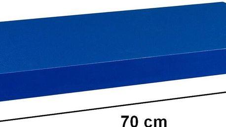 Nástěnná police STILISTA VOLATO - modrá 70 cm