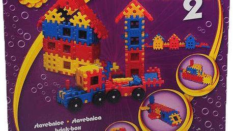VISTA Stavebnice Blok 2 – plast 146ks
