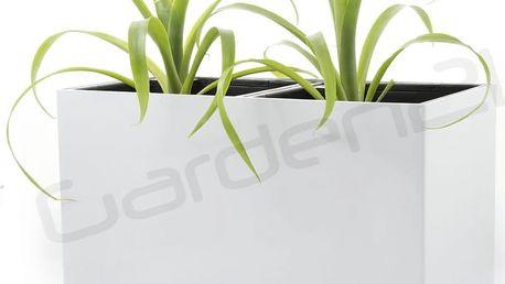 Samozavlažovací květináč G21 Combi bílý 56cm
