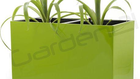 Samozavlažovací květináč G21 Combi zelený 56 x 28cm