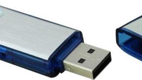 Mini USB diktafon s pamětí 4GB - skladovka - poštovné zdarma