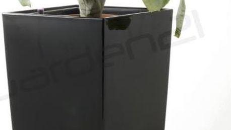 Samozavlažovací květináč G21 Linea small černý 55cm