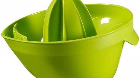 Odšťavňovač ESSENTIALS CITRUS - zelený CURVER