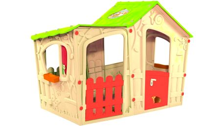 Hrací dětský domeček MAGIC VILLA PLAY HOUSE - béžový