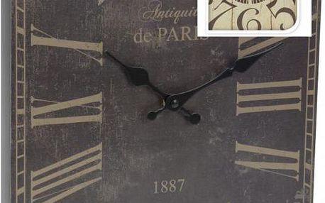 Koopman 35640 Nástěnné hodiny ANTIK 30 x 39 cm LONDÝN