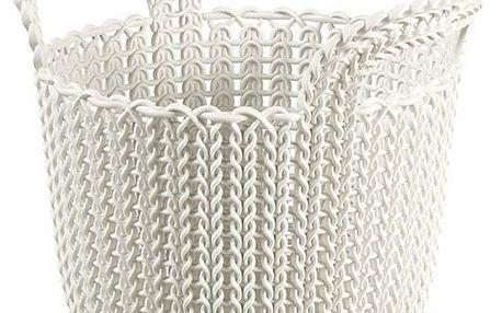CURVER CURVER Knit Basket round - Košík kulatý 3L - Oasis White