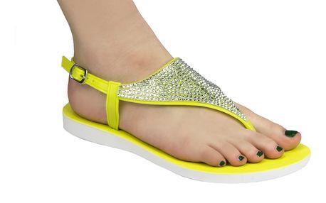 Dámské jelly sandály Always s krystalky