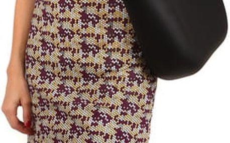 Barevné letní šaty fialová