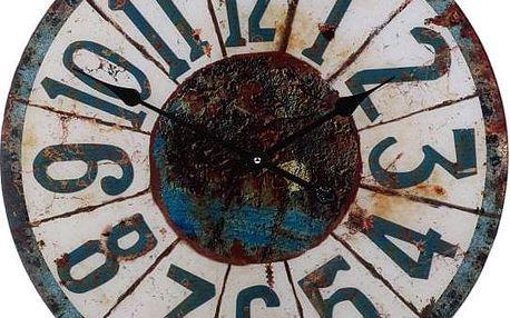 Koopman 35758 Nástěnné hodiny ROUND 57 cm - WINTER