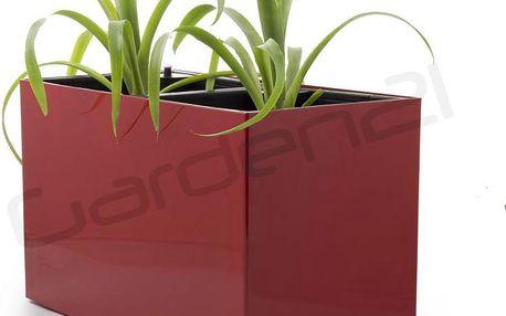 Samozavlažovací květináč G21 Combi červený 56 x 28cm