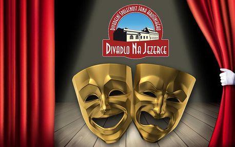 20% sleva na vstupenky do Divadla na Jezerce