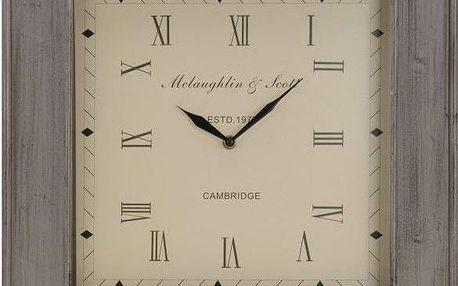 Koopman 35246 Nástěnné čtvercové hodiny 45 x 45 cm