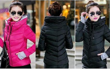 Polstrovaná zimní bunda - 11 barev !!