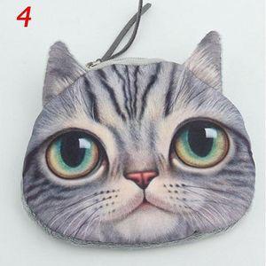 Peněženka s kočičí tváří - varianta 4 - skladovka - poštovné zdarma