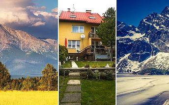 Vysoké Tatry na 4 dny pro 2 s polopenzí a platností až do konce března
