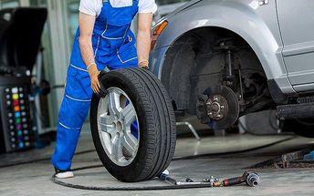 20% sleva na služby pneuservisu nebo rychloservisu v Praze