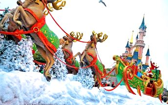 4denní zájezd do adventní Paříže s návštěvou Disneylandu s ubytováním pro 1 osobu