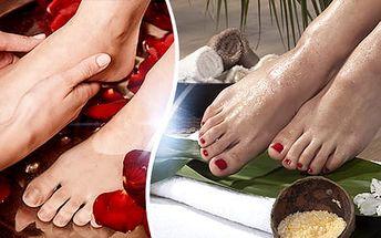 Profesionální péče o chodidla: spa pedikúra nebo orientální pedikúra v délce cca 60 minut