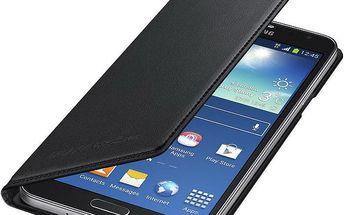 Samsung flipové pouzdro s kapsou EF-WN750BB pro Galaxy Note 3 Neo, černá - EF-WN750BBEGWW
