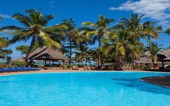 Zanzibar - Kiwengwa na 12 až 13 dní, light all inclusive s dopravou letecky z Prahy