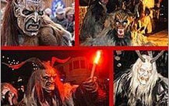 Dech beroucí masky čertů v Badenu i návštěva adventních trhů ve Vídni! Užijte si vánoční atmosféru!