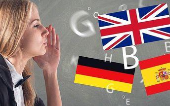 Kurzy anglické, španělské i německé konverzace