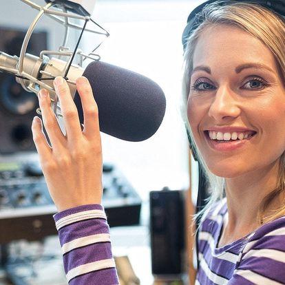 4hodinový kurz moderování v rádiu vč. vysílání