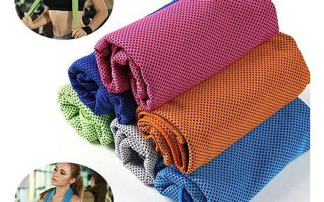 Sportovní ručník z mikrovlákna - 100 x 30 cm