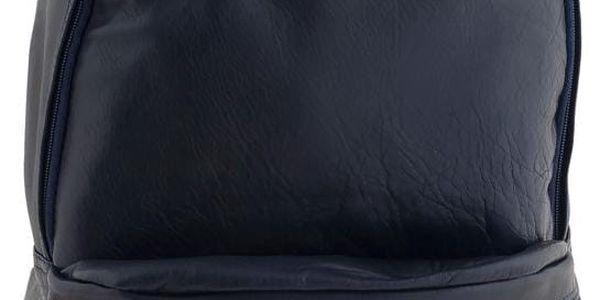 Kožený batoh Ore Diece Rovigo, modrý - doprava zdarma!