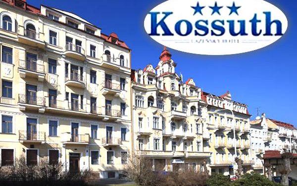 Wellness pobyt pro dva v Hotelu Kossuth***. V ceně polopenze a spousta procedur.