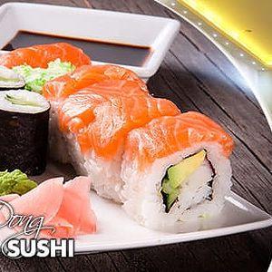 Running sushi: neomezená konzumace v délce 1,5 hod. pro 1 osobu u metra B Nám. republiky