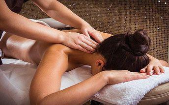 50minutová ájurvédská masáž v Ostravě ve studiu Paradise