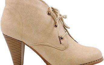 Kotníkové boty MD7026-3BE 38
