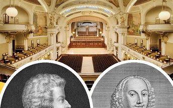 Koncert Mozart, Smetana a Dvořák s nezaměnitelnou atmosférou v překrásných prostorách Smetanovy síně