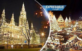 Vánoční Vídeň, 1denní zájezd pro 1 osobu na tradiční adventní trhy z Mikulova