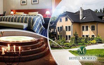 Mariánské Lázně, Golf hotel Morris na 5 dní pro dva s polopenzí a wellness + dítě zdarma