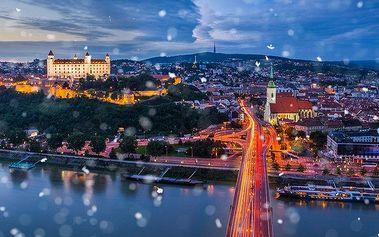 1denní adventní zájezd do Bratislavy pro 1 osobu