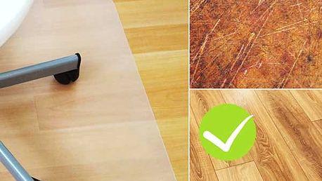 Ochranná podložka pod židli do práce či domů