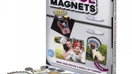 Zábavné magnety na fotografie Oblékni se