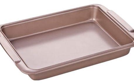 Tescoma Plech na pečení hluboký DELÍCIA GOLD 39x26 cm