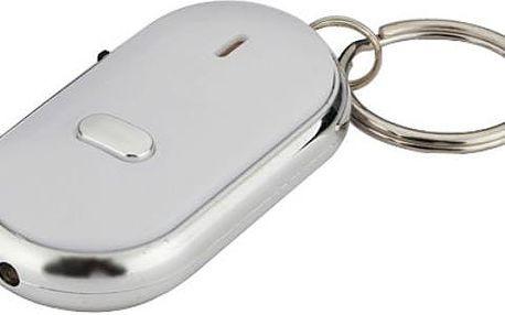 Vyhledávač klíčů se zvukem a červeným světlem - modrá - dodání do 2 dnů
