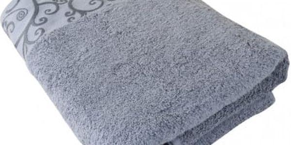 Stanex Osuška Venezia, bavlna, froté, 550g, šedá, 70x140cm
