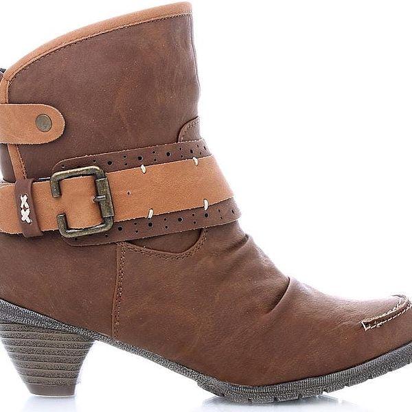 Kotníkové boty 8612-12Y.BR 40