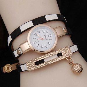 Dámské hodinky v podobě vícevrstvého náramku - 5 barev - poštovné zdarma